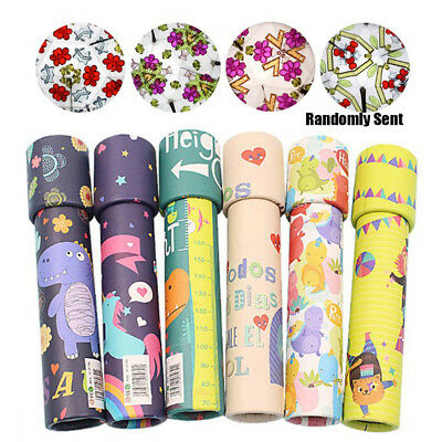 Cartoon 3D Kaleidoscope Imaginative Fancy Colorful Toy Children Gifts New