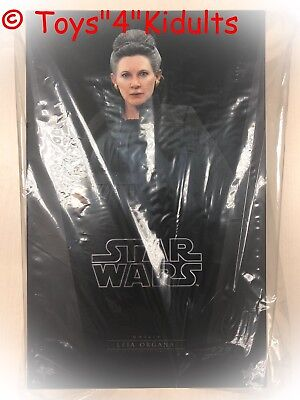 Hot Toys MMS 459 Star Wars The Last Jedi Leia Organa Carrie Fisher Figure NEW