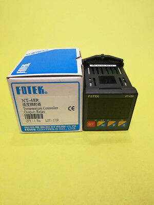 1pc Fotek Temperature Controller NT-22-RS 22.6x75x100mm PID SSR Out RS485 NT-22