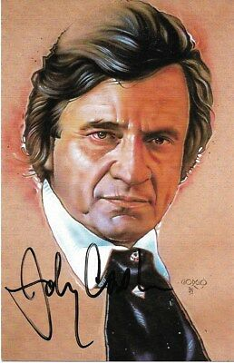 Johnny Cash Autogramm signed 10x15 cm Postkarte