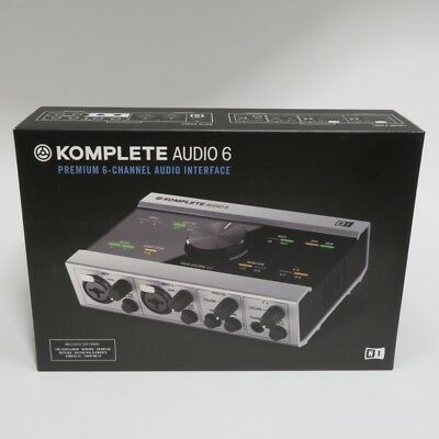 Official Native Instruments Komplete Audio 6 New
