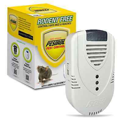 2x Pestrol Rodent Free get rid of rats n mice Cockroaches easy way Pest Control