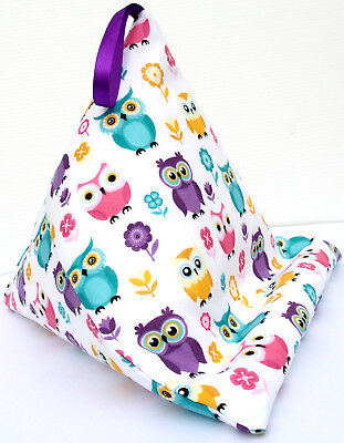 OWLS c Resting pillow cushion holder bean bag for Book Kindle Tablet iPad