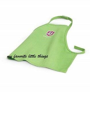 """American girl green Science lab apron smock for Luciana or 18"""" dolls"""