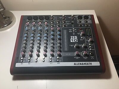 Allen & Heath zed 10 mixer