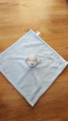 Early Days Primark Monkey Blue Comforter/Blankie Soft Toy
