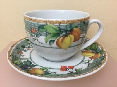 Wedgwood Home Eden Tea Cup & Saucer Superb Unused Condition