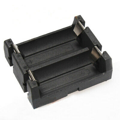 2x CR123A /16340 / LIR123A Battery Holder With Black Plastic PCB 4PIN Case Box
