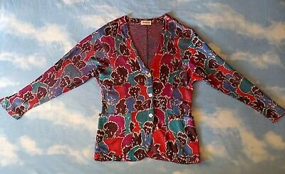 JACKET  woman  MISSONI  80's TG.L made in  Italy  RARE