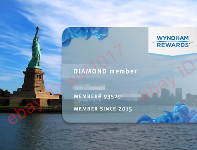 Wyndham Diamond Status 90 Day Trial Direct Upgrade (Can Be Extended To Dec 2020)