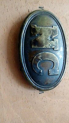 Civil War Belt Buckle
