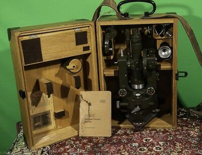 Theodolite Carl Zeiss THEO 030, like new, come nuovo con accessori baule manuale