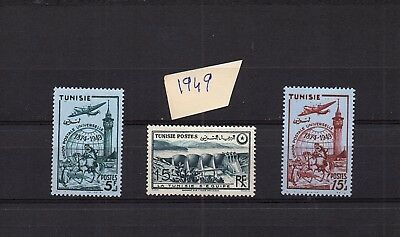 Tunisie - French Colonies  Selection Of Mh Set Of  Stamps - Lot (Tun - 13)