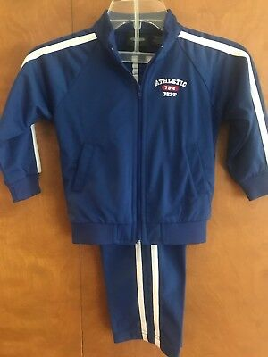 NWT Toddlers Athletic Tracksuit Athletic Works Blue 3T