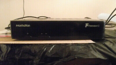Manhattan Freeview Box - Plaza HD T2 - Freeview HD Receiver with Apps.