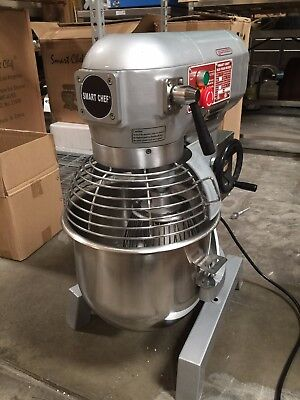 20Qt Commercial Bakery Dough Food Mixer Gear Driven Three Speed W/ETL(NSF)Listed