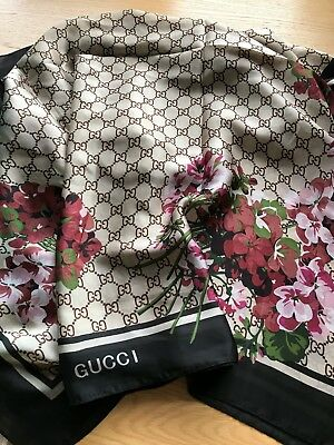 Gucci Silk Scarf BRAND NEW WITH TAGS