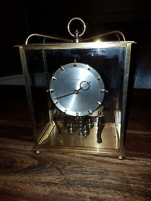 Kundo Large   Glass Domed Anniversary Clock-SPARES OR REPAIR