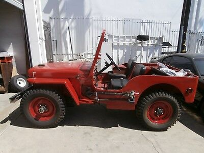 willys jeep WW2 1942 Ford GPW classic car military vehicle barn find