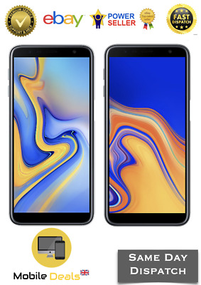 New Samsung Galaxy J6 Plus 32GB & 64GB J610F Smartphone 4G LTE DualSim Unlocked