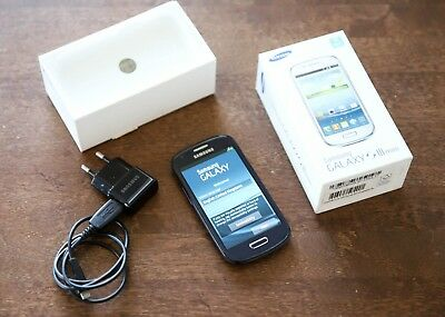 Samsung Galaxy S3 SIII Mini I8190N NFC Unlocked Pebble Blue Android smartphone