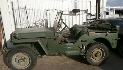 willys jeep WW2 1942 Willys MB jeep classics car military vehicle barn find