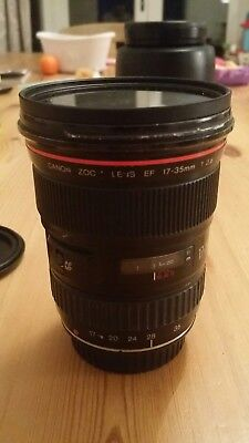 Canon 17-35mm F2.8 L USM Ultrasonic. MF only. No Reserve