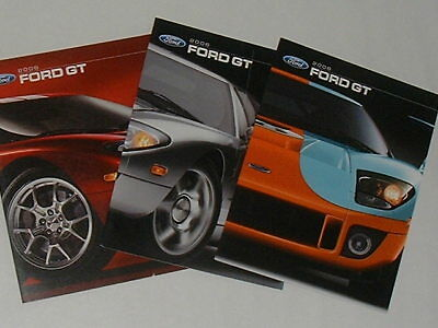 2006 Ford GT Sales Brochures BRAND NEW SEALED GT40 Red Livery Gulf Free PRIORITY