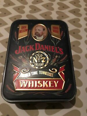 Jack Daniels JD Tennessee Whiskey Old No7 in a tin. 2 x 50ml Bottles