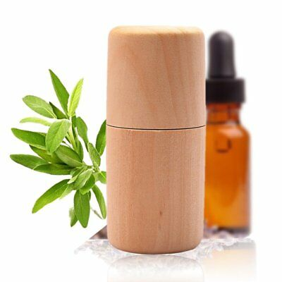 10ml Essential Oil Scents Wooden Storage Box Carrying Case Organizer Holder SY