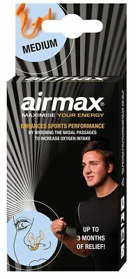 Airmax Sport Performance Nasal Dilator 3 Months Relief Clinically Proved