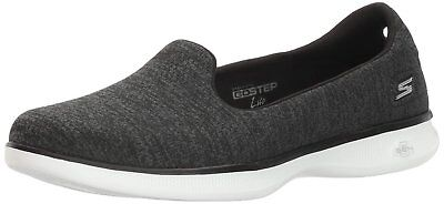 Skechers Performance Women's Go Step Lite Slip-on Walking Shoe, 6.5M US, Black