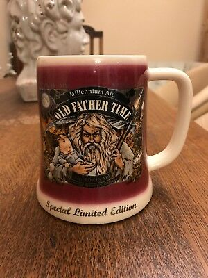 Wychwood Brewery Millenium Ale Old Father Time Limited Edition Tankard