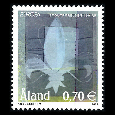 """Aland 2007 - EUROPA Stamps """"100th Anniversary of Scouting"""" - Sc 262 MNH"""