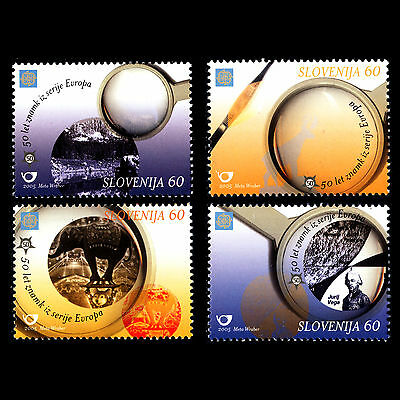 Slovenia 2005 - 50th Anniversary of EUROPA Stamps - Sc 602/6 MNH