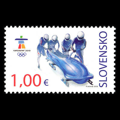 Slovakia 2010 - Winter Olympic Games Vancouver Sports - Sc 588 MNH