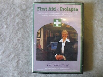 First Aid for Prolapse DVD Reverse Pelvic Organ Prolapse - Without Surgery