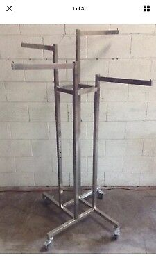 Retail Free Standing Clothes Racks