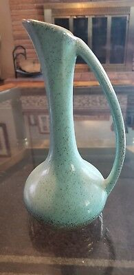 Turquoise And Gold Vase
