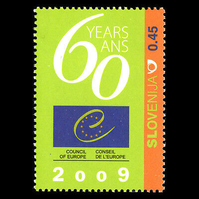 Slovenia 2009 - 60th Anniversary of the Council of Europe - Sc 786 MNH