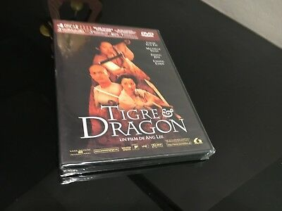 Tigre & Dragon Dvd Ang Lee Chow Yun Fat Michelle Yeoh Zhang Ziyi Chang Chen