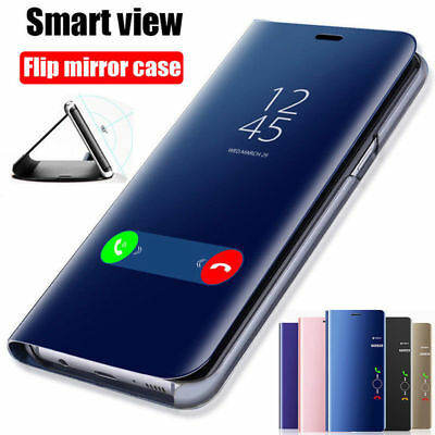 Smart Mirror Wallet Stander Phone Cover Case For iPhone XS Max XR X 8 7 6s Plus