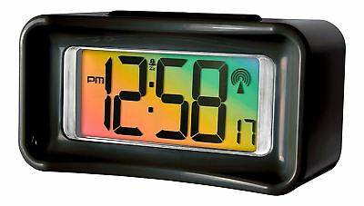 Acctim Guardia Stylish Jumbo LCD Radio Controlled Alarm Clock 71603