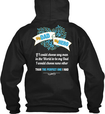 Trendsetting Missing Dad My Hero - You If I Could Gildan Hoodie Sweatshirt