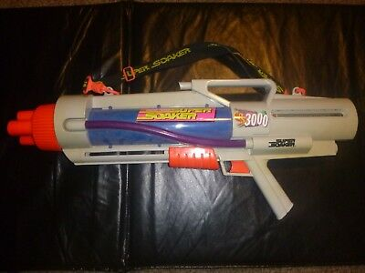 Super Soaker Cps 3000 Water Gun 1997 Larami Tested No Backpack Tank