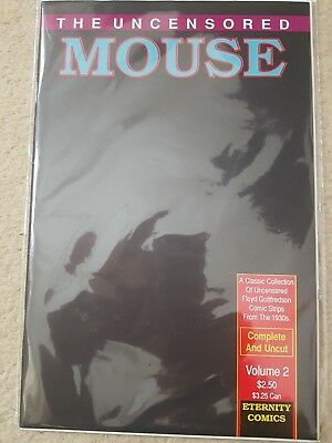 Mickey Mouse 'The Uncensored Mouse Vol 2' Eternity Comics B&B N/M