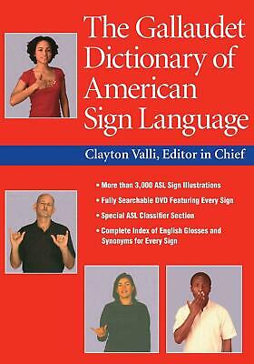 The Gallaudet Dictionary of American Sign Language [With DVD] (English) Hardcove