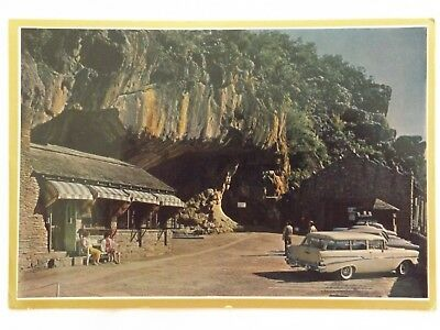 Entrance to the Cango Caves - South Africa - Vintage - Collectable - Postcard.