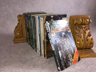 Q29- Sci-Fi Science Fiction Job Lot Vintage Paperbacks Fantasy Novels etc Bundle