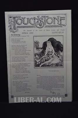 Touchstone Issue No. 10 April 1996 [The Journal of the Oder of Bards Ovates a...